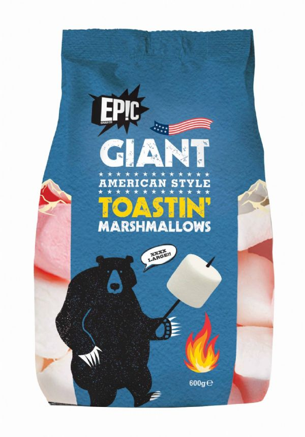 Epic Snax Giant Marshmallow 600G